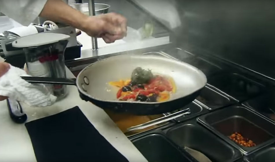 video preview image of a chef with a sautee pan